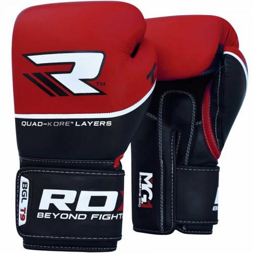 Боксерські рукавички RDX Quad Kore Red 14 ун.
