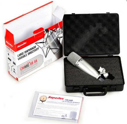 Конденсаторный микрофон для записи вокала и акустических инструментов SUPERLUX CMH8B, фото 2