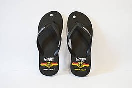 Вьетнамки мужские черные Germany Super Gear 41 размер