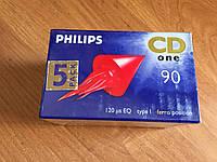 Аудио кассеты philips cd one 90. Новые. В лоте 5 штук!