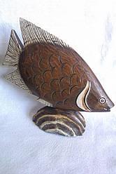Статуетка риби з дерева, Індонезія
