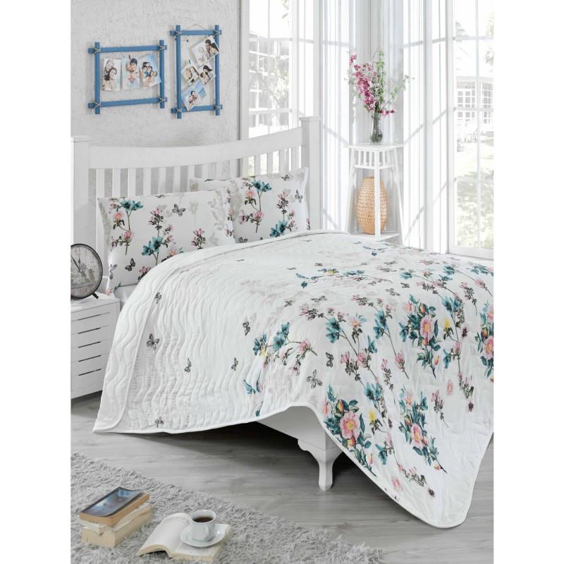 Покрывало стеганное с наволочками Eponj Home - Carmela Somon 200*220 см