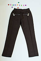 Трикотажні жіночі (чорні) ріст 134-140 см