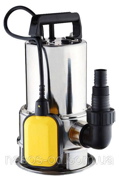 Дренажный насос Euroaqua QSP 1100 садовый для колодцев 1.1кВт Hmax9м Qmax250л/мин (нержавейка)
