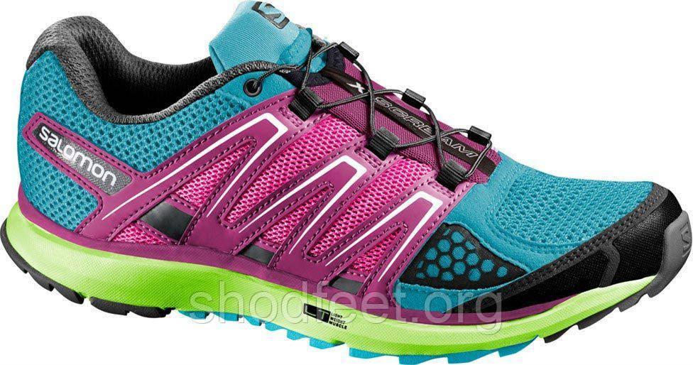 Женские кроссовки Salomon X-Scream Lady Pink Trail Running 368905