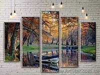 Модульные картины, пейзажи, Art. NATM0053