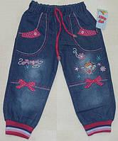"""Детские джинсы для девочек """"Angel"""" 1,3,4 года"""