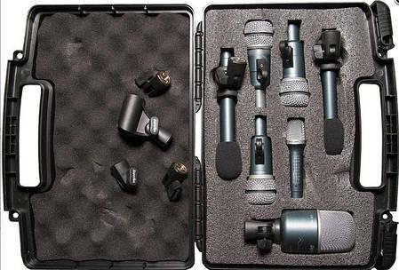 Набор микрофонов для барабанов (7шт) SUPERLUX DRKB5C2MKII, фото 2