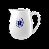 Белый кувшинчик для молока Caffe BORBONE