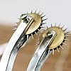 Колесо Вартенберга металлическое с иголками, фото 10