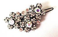 Заколка для челки, сияющие цветы