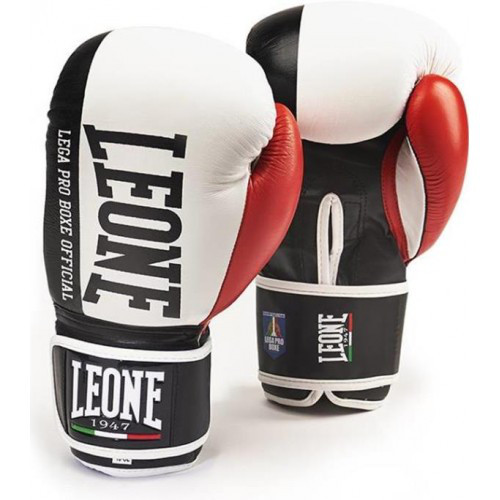 Боксерські рукавички Leone Contender White 10 ун.