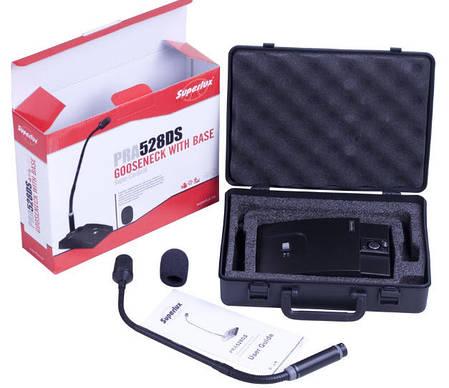 Микрофон конференц типа на гусиной шейке SUPERLUX PRA528DS, фото 2