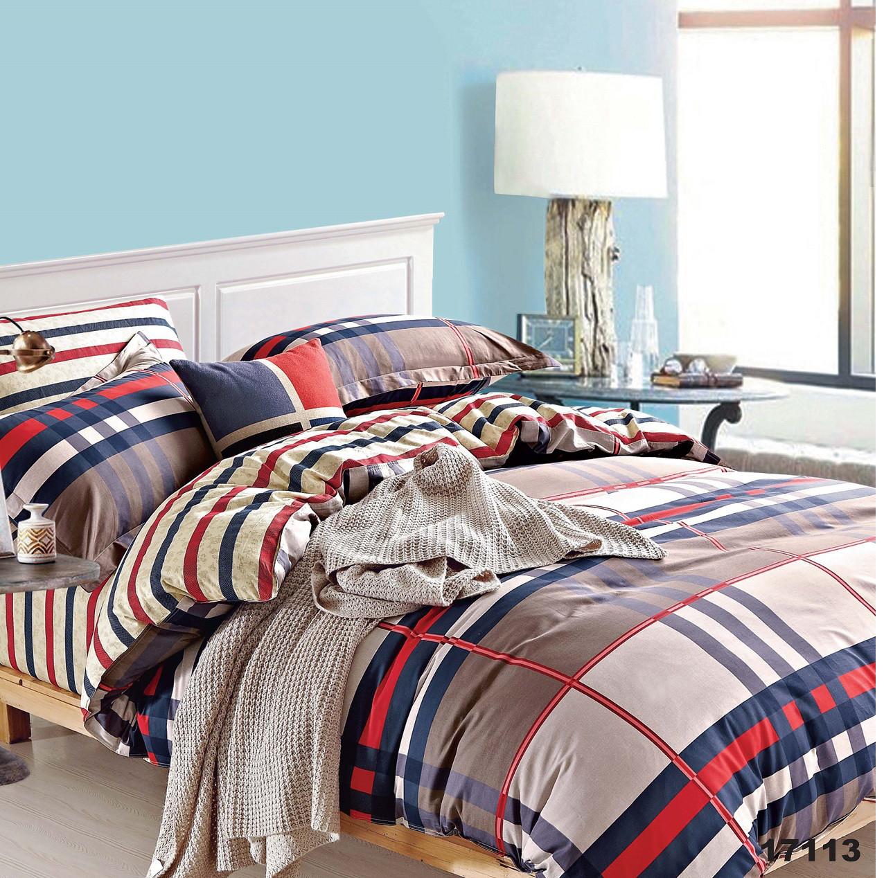 Полуторное постельное белье Вилюта 17113 ранфорс