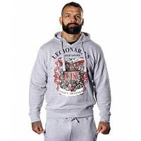 Толстовка Leone Legionarivs Fleece Grey L