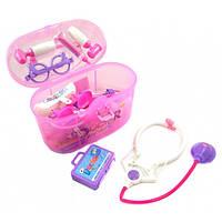 Набор доктора для девочки в чемодане