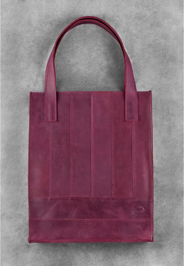 """Кожаная женская сумка """"Бэтси"""""""