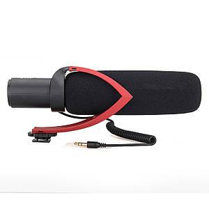 Спрямований конденсаторний мікрофон-гармата Comica CVM-V30