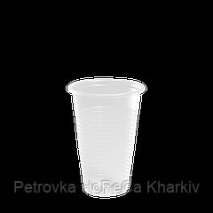 Стаканы пластиковые 180мл 100шт Прозрачные