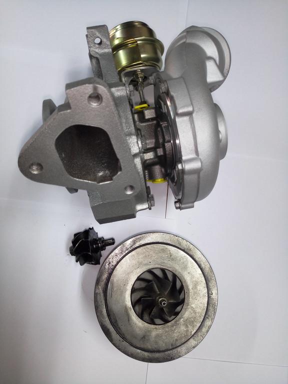 Замена картриджа турбины 709836-9005S на Mercedes Sprinter 411, 2.2 cdi