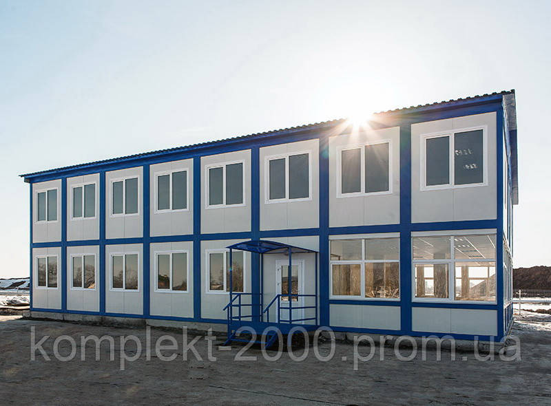 Сборные модульные дома для офиса и дачи | Цена строительства модульных металлоконструкций производителя