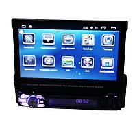 Автомагнитола с Выездной панелью на Android  с DVD и GPS  9901 , фото 1