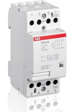 Модульный контактор ABB ESB24-04-400AC/DC, GHE3291202R0007