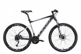 """Велосипед 27.5"""" Leon XC-70 AM Hydraulic lock out 14G  HDD  рама-18"""" Al серо-черный (м)   2018  OPS-LN-27.5-027"""