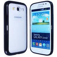 Чехол TPU Накладка для Samsung Grand dous i9082 Черный