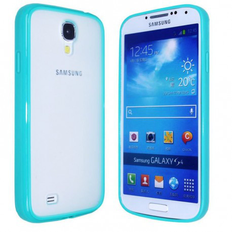 Чохол TPU Накладка для Samsung S4 Світло-синій