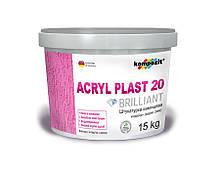 "Штукатурка камешковая Acryl Plast 20 Штукатурка камешковая Acryl Plast 20 ""Короед"" - 15кг"