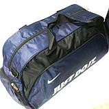 Спортивные дорожные сумки Nike (черный плащевка)33*56, фото 2