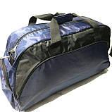 Спортивные дорожные сумки Nike (черный плащевка)33*56, фото 3