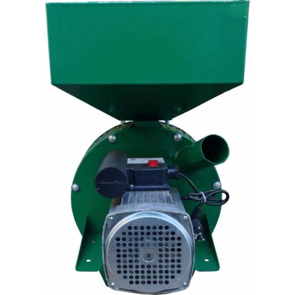 Кормоизмельчитель Фермер Д-2 электрический для зерна и початков кукурузы