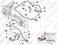 """Сальник трубки сцепления высокого давления (уплотнение """"1 шт"""") Fiat Scudo (2007-……) 9402156158"""