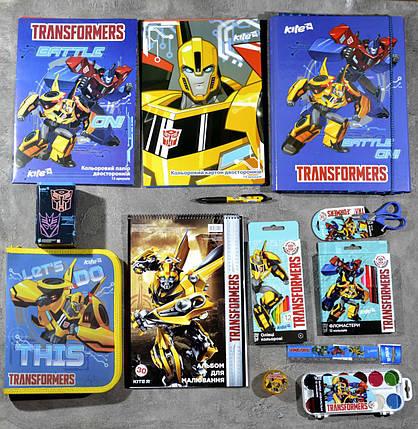 Школьный набор первоклассника для мальчика Kite Transformers, фото 2