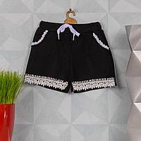 Детские шорты с кружевом для девочки. Zoloto A442-1-1 S.