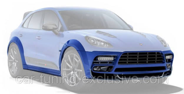 MANSORY Wide Body kit for Porsche Macan