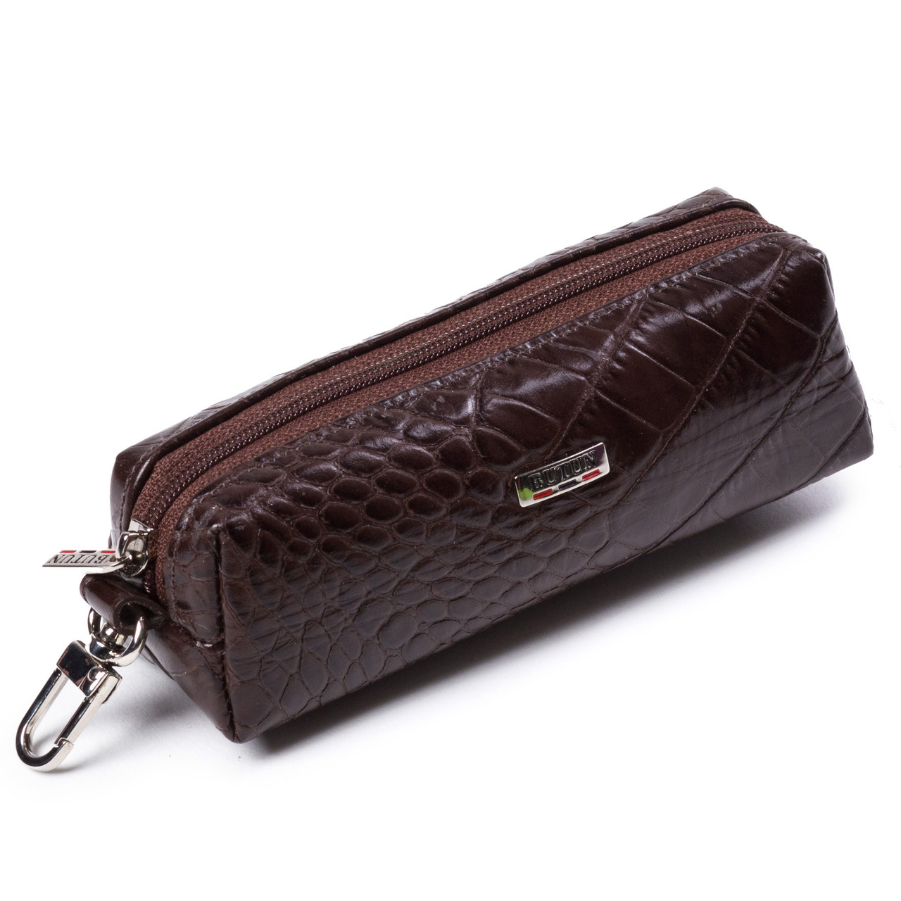 Ключница кожаная коричневая Butun 784-002-004