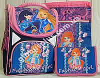 """Набор рюкзак ортопедический + сумка + пенал Josef Otten """"Fashion girl"""", JO-1809 арт. 520099-1"""