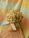 Шиньон-накладка короткий на гребешках пшеничный блонд 988-24ВТ613, фото 3