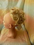 Шиньон-накладка короткий на гребешках пшеничный блонд 988-24ВТ613, фото 4