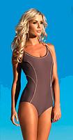 Спортивный купальник слитный Self для бассейна с поролоновыми чашечками, р.2XL, фото 1