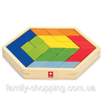 """Дерев'яна іграшка-головоломка з бамбука """"Puzzle Prism"""""""