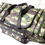 Військові дорожні сумки камуфляж Nike (принт)35*71, фото 2