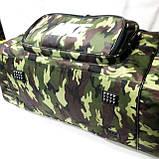 Військові дорожні сумки камуфляж Nike (принт)35*71, фото 3