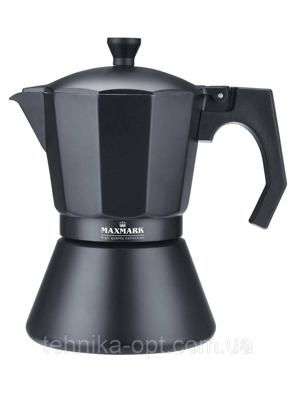Гейзерная кофеварка Maxmark MK-106BL