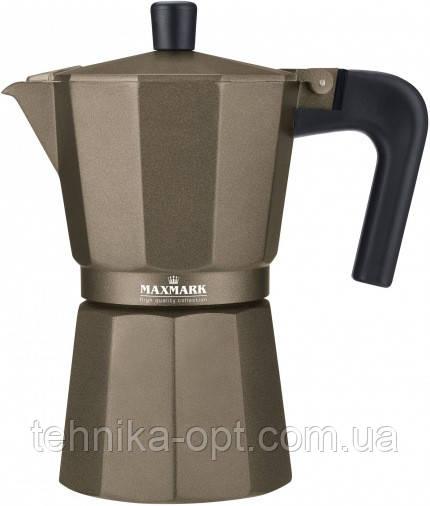Гейзерная кофеварка Maxmark MK-106BR