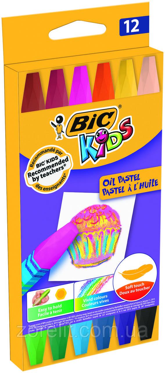 Крейду масляние BIC (12шт)