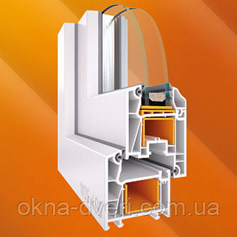 Металлопластиковые окна WDS 8 серия  6-камерная система.